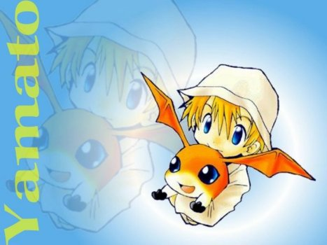 patamon n takeru